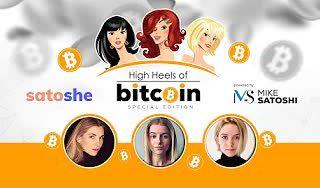 High Heels of Bitcoin Special #3 | Mir, Lina, Molly - SatoSHE