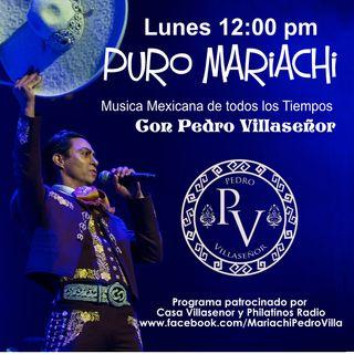 Puro Mariachi.- Pedro Villaseñor 1/er. Programa