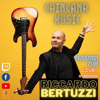 #8 Riccardo Bertuzzi nel salotto virtuale di Chincana Music
