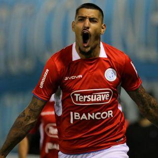 Gol de Belgrano: Adrián Balboa 1-0
