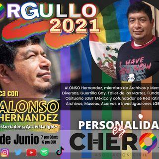 Alonso Hernández de Archivos y Memoria, Obituario Lgbt, Voces en Tinta y Seminario LGBT
