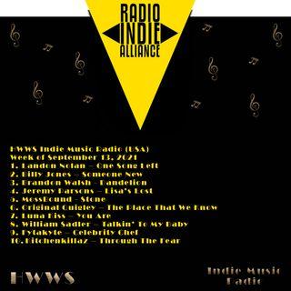 HWWS Indie Music Top Ten Spotlight 09132021