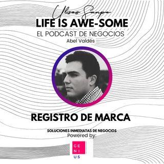 Abel Valdés E08 Registro de marca
