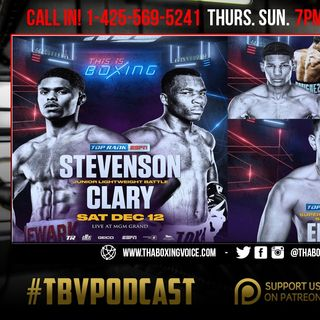 ☎️Stevenson vs Clary, Anthony Joshua vs Pulev, Parker vs Fa, Previews and Predictions🔥