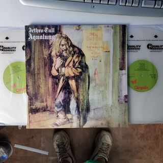 Sides 1,2,3 & 4 Aqualung (1971) 2 LP 45RPM UHQR Pressing #2658