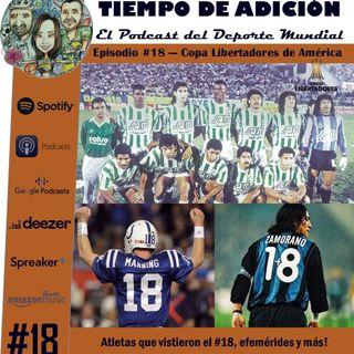 Episodio 18 temp 2 Copa Libertadores