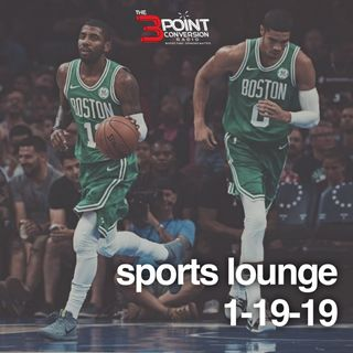 The 3 Point Conversion Sports Lounge- NFL Championship Sunday, Did Kyrie Do The Right Thing, Boogie's Return, College Basketball Heating Up