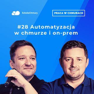 Odc. #28 Automatyzacja w chmurze i on-prem okiem sieciowca. Gość Piotr Wojciechowski