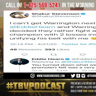 ☎️Shakur Stevenson vs Josh Warrington🍿What's Really The Hold Up❓Did Shakur Turn down Offer❓