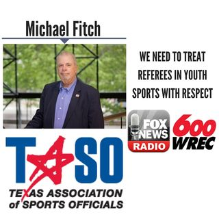 We Need To Treat Referees in Youth Sports With Respect || Michael Fitch Discusses LIVE (6/22/18)