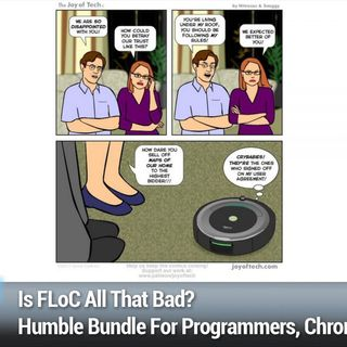 SN 815: Homogeneity Attacks - Is FLoC All That Bad?, Humble Bundle For Programmers, Chrome 90