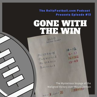 Episode 13 - Gone With The Win