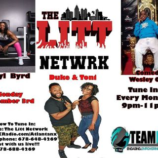 LITT w/ @apryl_the_fitress and @comedianwesleychapel 12-03-2018