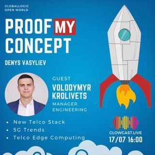 #5 Volodymyr Krolivets: New Telco Stack 5G