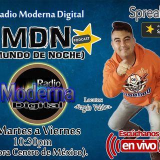 #MundoDeNoche en la voz de Sergio Valdez