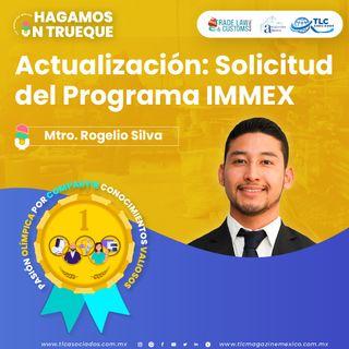 Episodio 249. Actualización: Solicitud del Programa IMMEX