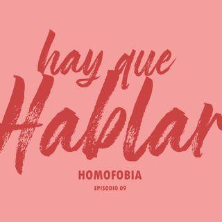 """Hay que Hablar """"Homofobia"""""""