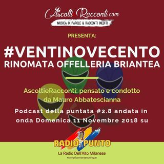 Radio Punto | #2.8 Intervista Rinomata Offeleria Briantea + Blues 11-11-2018