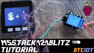 BTCIOT - M5Stack121BLITZ, simple LND node PoS module