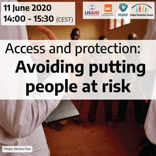 Access and protection: Avoiding putting people at risk