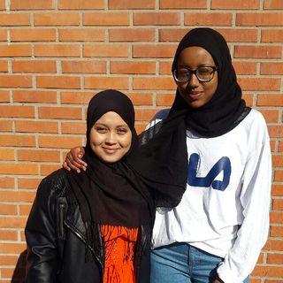 Rahma och Mariam berättar om gymnasiet