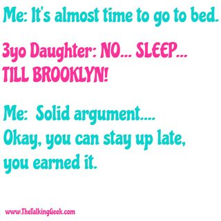 No... Sleep... Till Brooklyn!