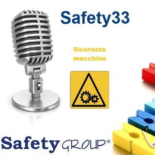 Safety33 Sicurezza macchine con Avv. Rolando Dubini