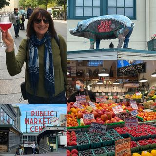 Debbie Stone - Pike Place Market in Seattle