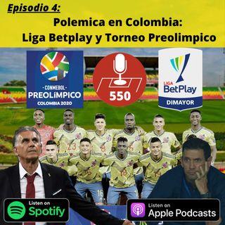Polemica en Colombia: Liga Betplay y Torneo Preolimpico
