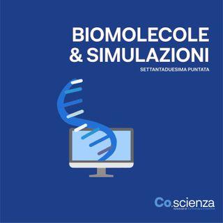 Biomololecole e simulazioni (Settantaduesima Puntata)