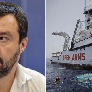 Open Arms, la Procura di Palermo chiede il rinvio a giudizio per Matteo Salvini
