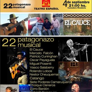 22º Patagonazo Musical