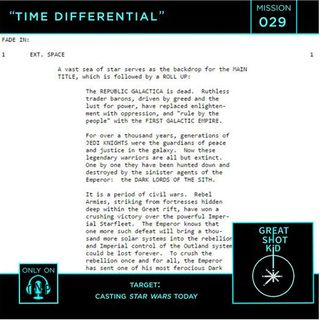 Mission 29: Time Differential