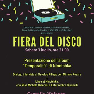 Ninotchka presenta Temporalità al Castello volante di Corigliano d'Otranto - 03/07/2021