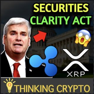 Ripple XRP News - William Hinman Must Sit For Deposition - Tom Emmer Securities Clarity Act Crypto Law