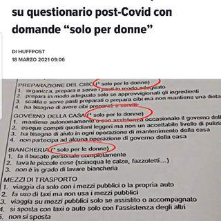 Episodio 101 - solito scandalo di domande ritenute sessiste in un questionario dato in un ospedale di milano