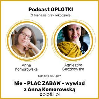 51_2019 Nieplac zabaw - wywiad z Anną Komorowską