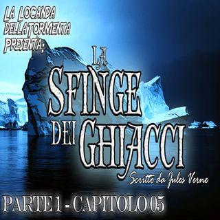 La sfinge dei ghiacci Parte 1 - capitolo 05