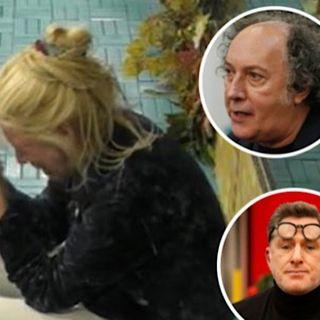 Gf Vip Guenda Fulvio Abbate e Filippo Nardi  commentano  il crollo di Maria Teresa