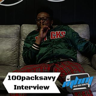 100packsavy Interview Hottest Aurora artist Azz Cheeks on my Bape shirt Mile High Minute