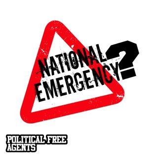 Episode 33 [Live]: National Emergency? Bernie's Running. Kaep Settlement.