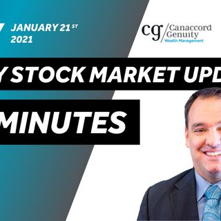 Daily Stock Market Update - January 21st 2021