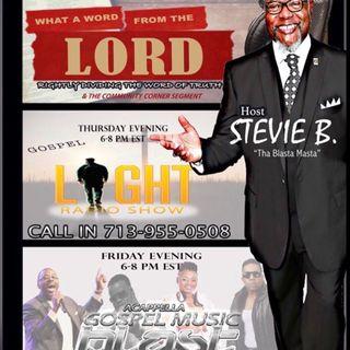 Stevie B's Acappella Gospel Music Blast - Episode 36