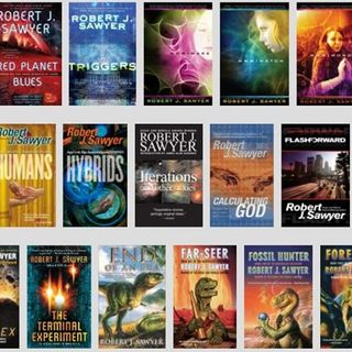 UFO Undercover w/ his guest author Robert J. Sawyer he has 24 great books to his credit