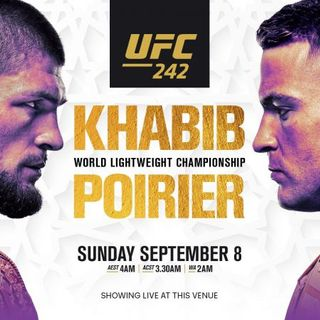 UFC 242: Khabib vs. Poirier Alternative Commentary