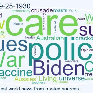World News 2021-09-25-1930