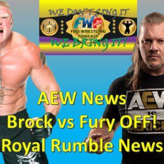 Royal Rumble Plans - AEW News