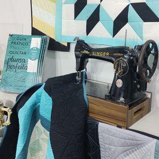 Como preparar a máquina de costura para fazer Quilting