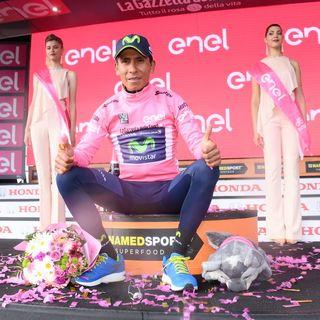 Quintana conquista el Blockhaus y es líder del Giro