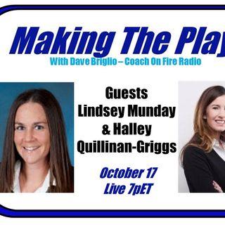 Part 2:  Halley Quillinan Griggs inside Lacrosse